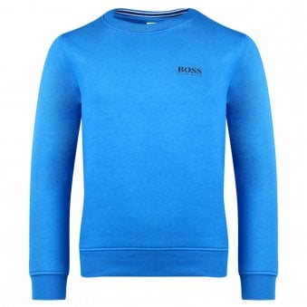 Boss Sweatshirt Electric Blue