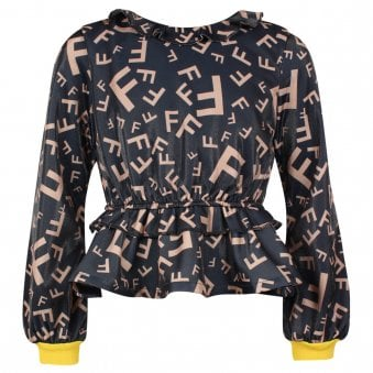 Fun & Fun Blouse Black