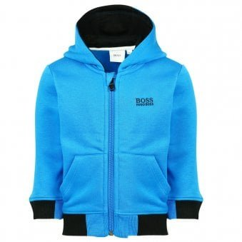 Boss Hooded Sweatshirt Electric Blue