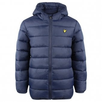Lyle & Scott Puffer Jacket Navy