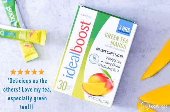green tea and mango idealboost