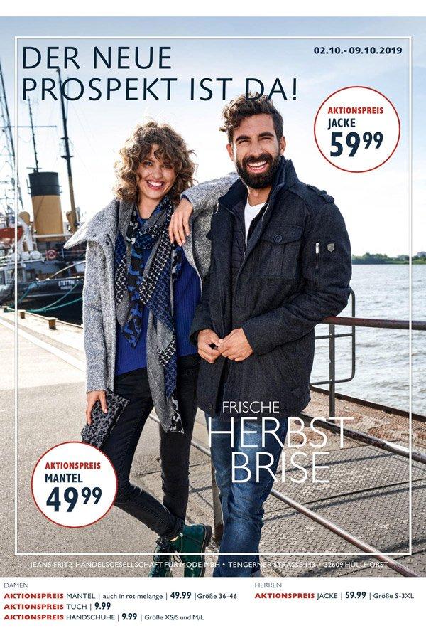 Jeans Fritz Newsletter