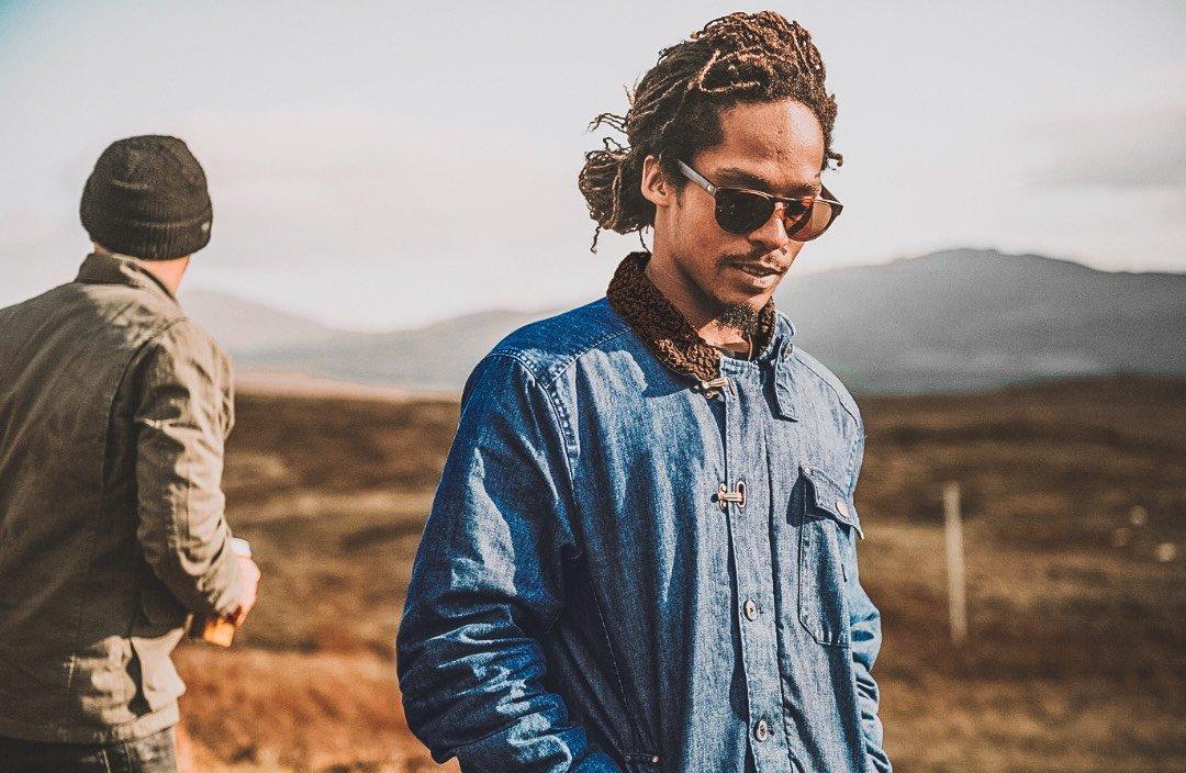 Indigo Axeman + Sherpa Collar