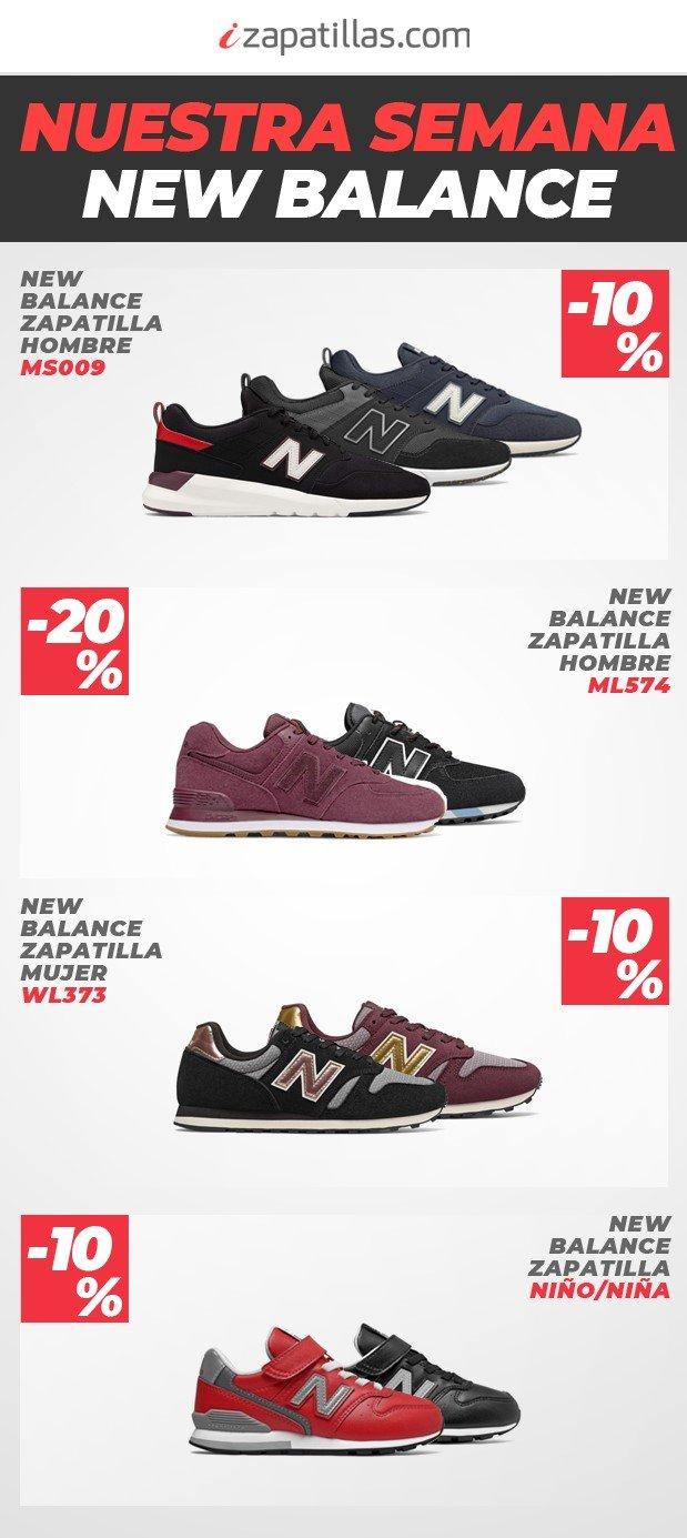 zapatillas new balance negras niña