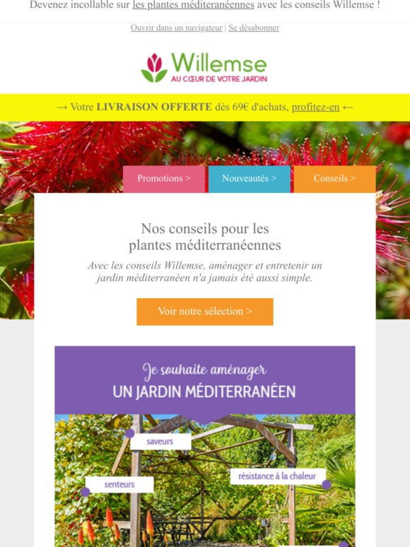 Willemse, plantes pour le jardin Email Newsletters: Shop ...