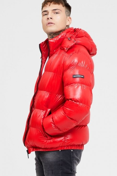 Cyclone Red Puffer Jacket
