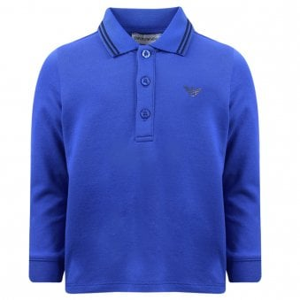 Emporio Armani Polo Shirt Electric Blue