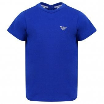 Emporio Armani T Shirt Electric Blue