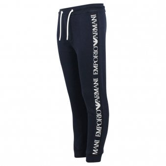 Emporio Armani Jogging Bottoms Navy