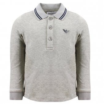 Emporio Armani Polo Shirt Grey
