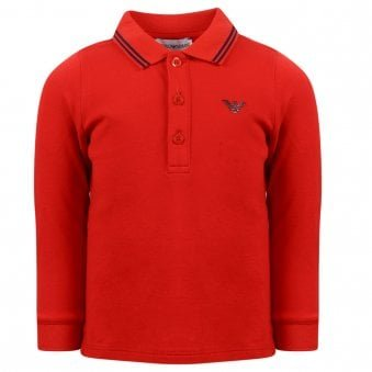 Emporio Armani Polo Shirt Red