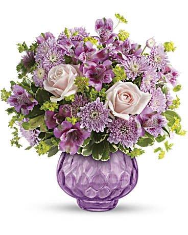 Teleflora's Lavender Chiffon Bouquet