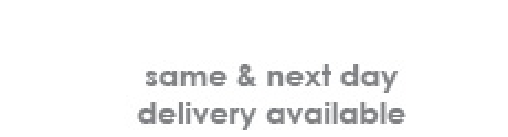 same & next day delivery available