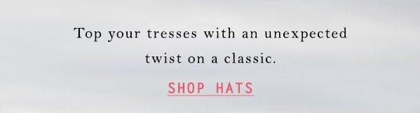 Shop hats.