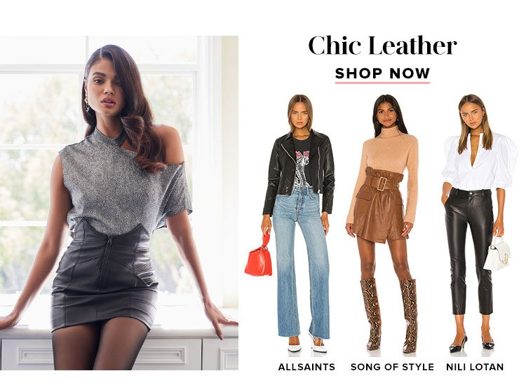 Chic Leather. Shop now.