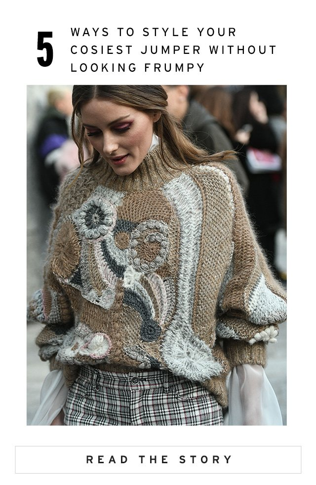 5 Ways To Style Your Cosiest Jumper Without Looking Frumpy - Read The Story