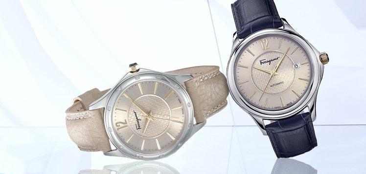 Salvatore Ferragamo & More Men's Leather Watches