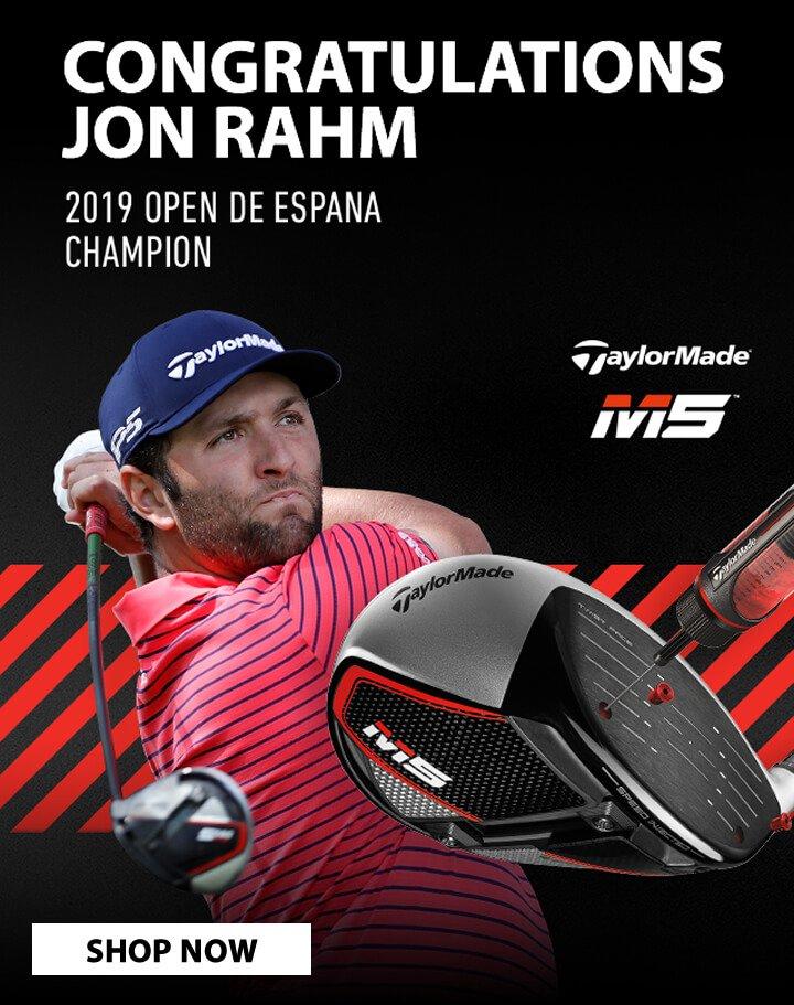 Congratulations Jon Rahm - Shop TaylorMade