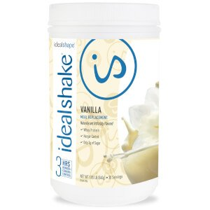 IdealShake Vanilla - Meal Replacement Shake - 30 Servings