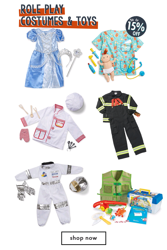 Role Play Costumes and Toys