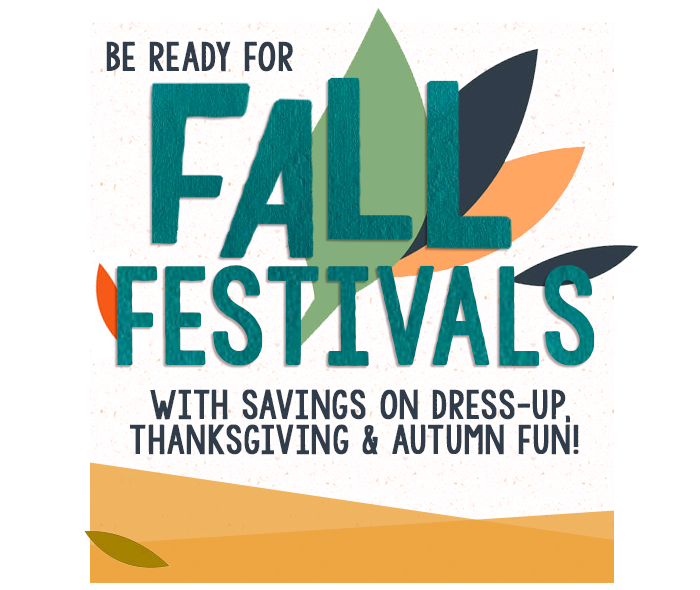 Be Ready for Fall Festivals