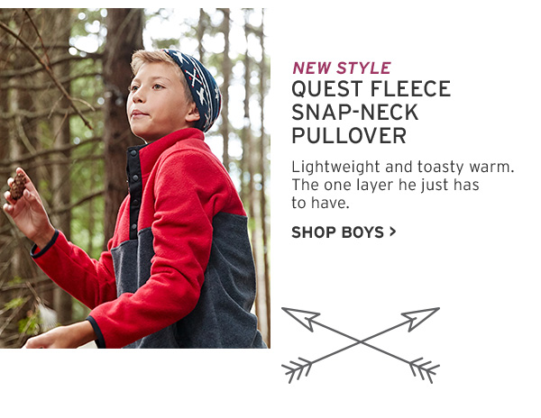 SHOP BOYS quest fleece