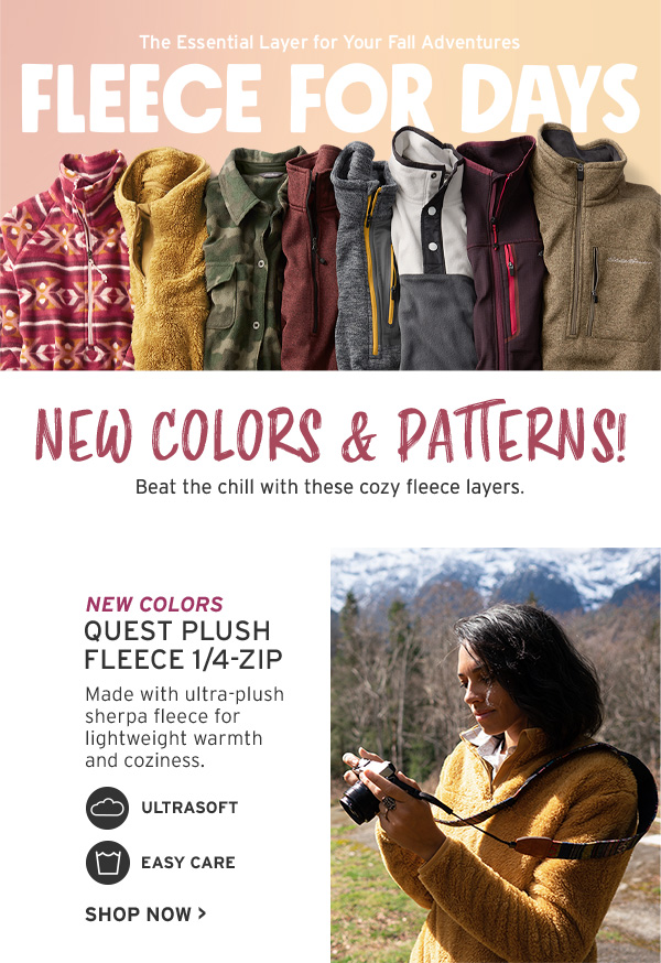 new colors new patterns