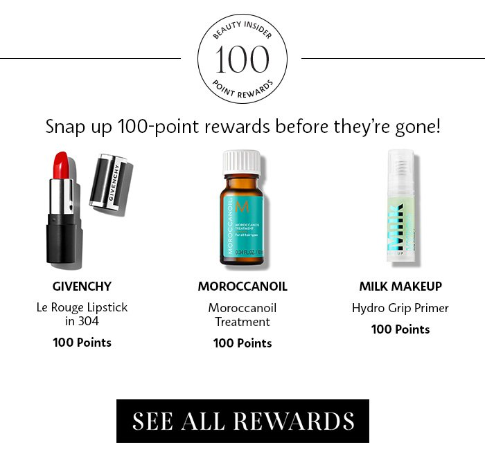 100 Point Rewards