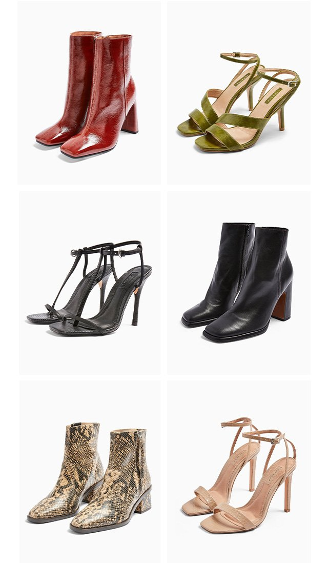 Put a spring in your step with new season shoes and boots…