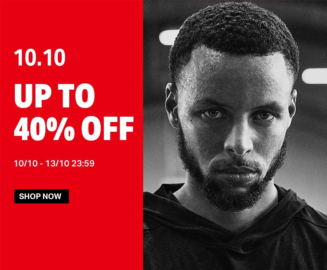 10.10 - UP TO 40% OFF - 10/10 - 13/10 23:59 - SHOP NOW