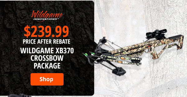 Wildgame XB370 Crossbow Package