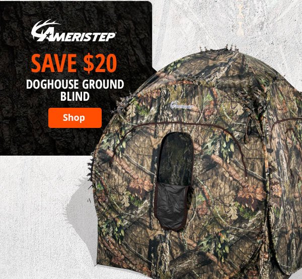 Doghouse Ground Blind
