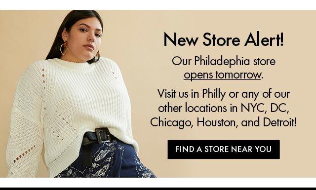 New store alert