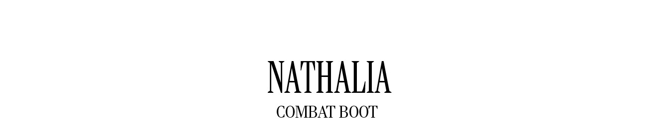 NATHALIA COMBAT BOOT