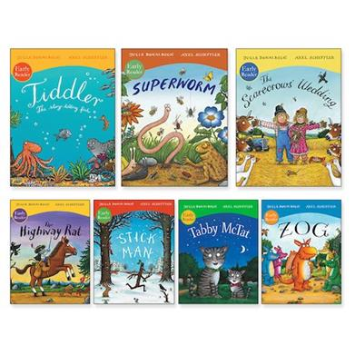 Julia Donaldson and Axel Scheffler Early Readers