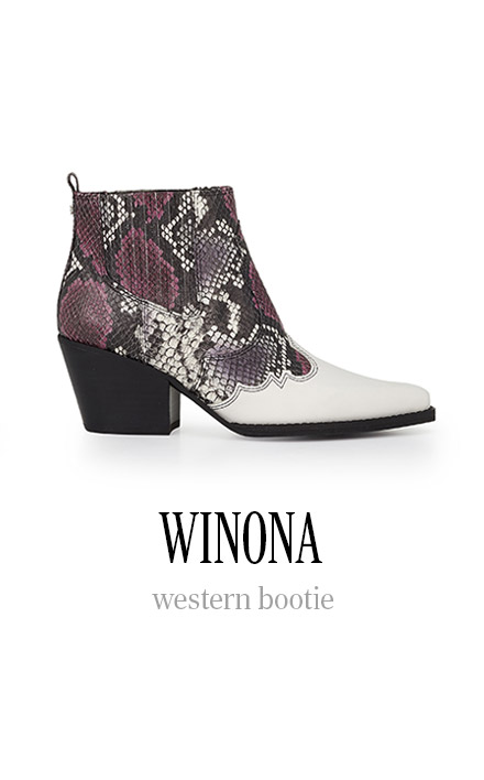WINONA western bootie