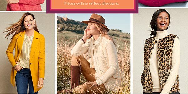 Columbus Day Weekend Event: 30% off your entire purchase, in stores and online. Shop Now