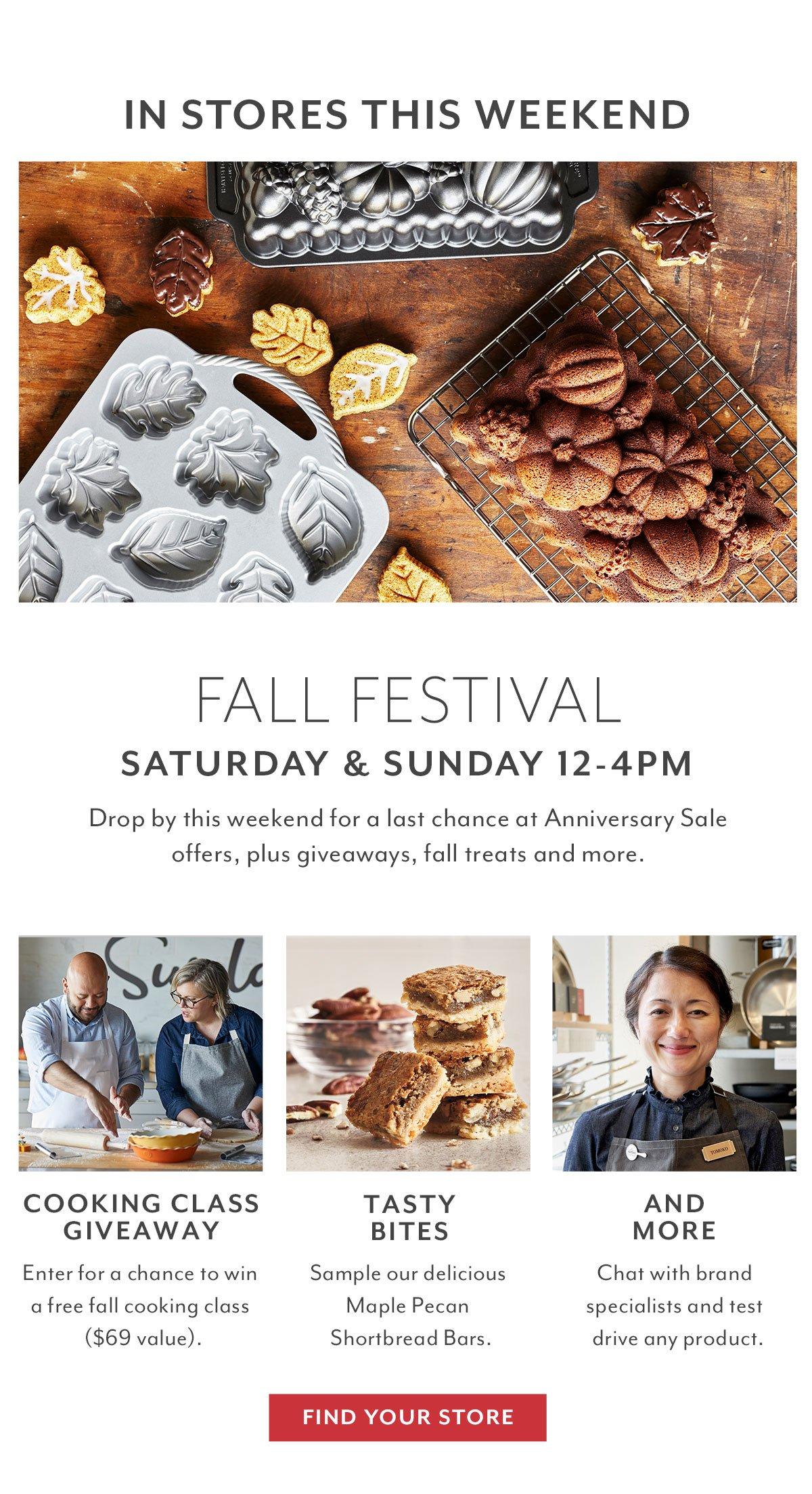 Fall Festival • Store Event