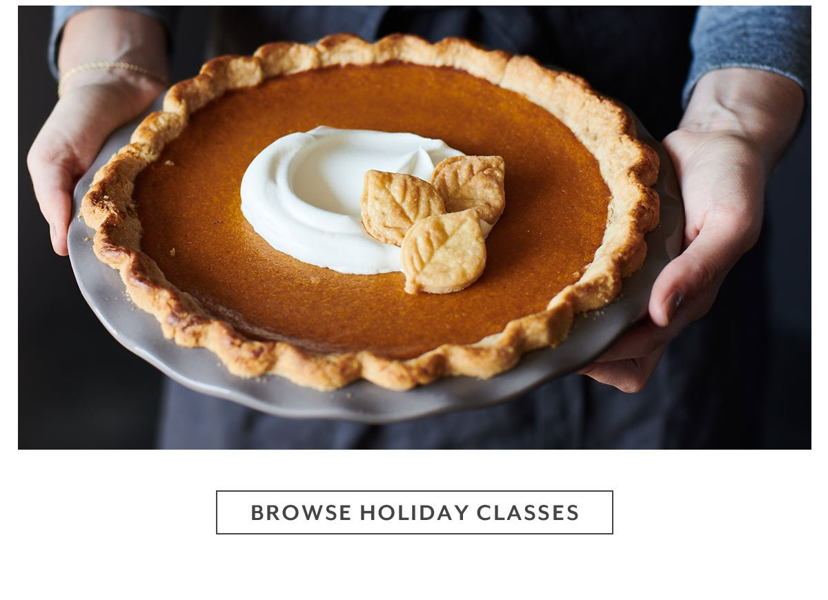 Browse Holiday Classes