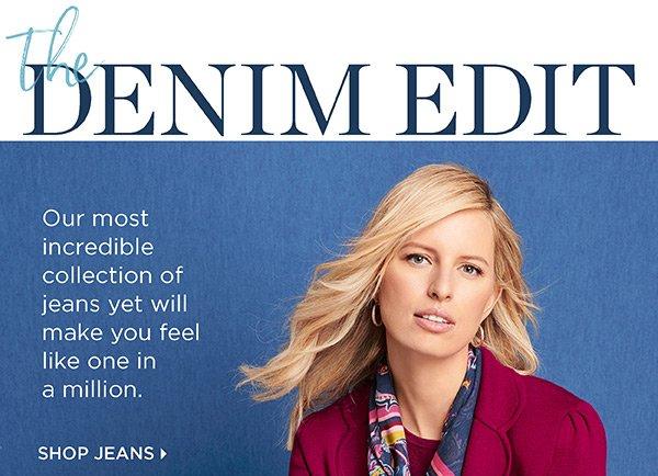 The Denim Edit. Shop Jeans