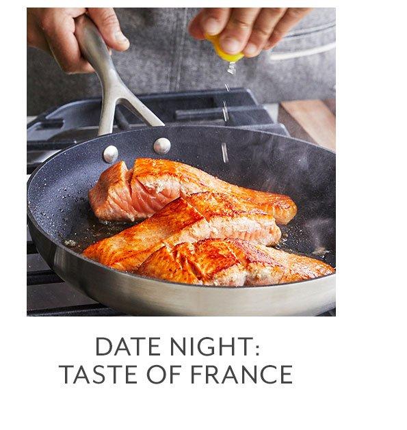 Class: Date Night • Taste of France