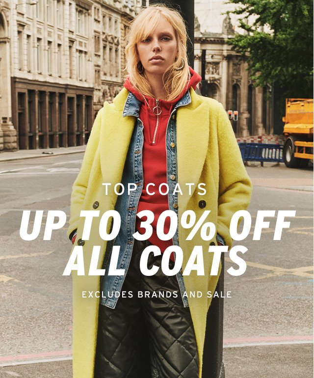 Shop all our cosiest coats for less…