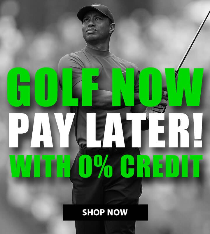 Golf Now, Later With 0% Credit - Click Here