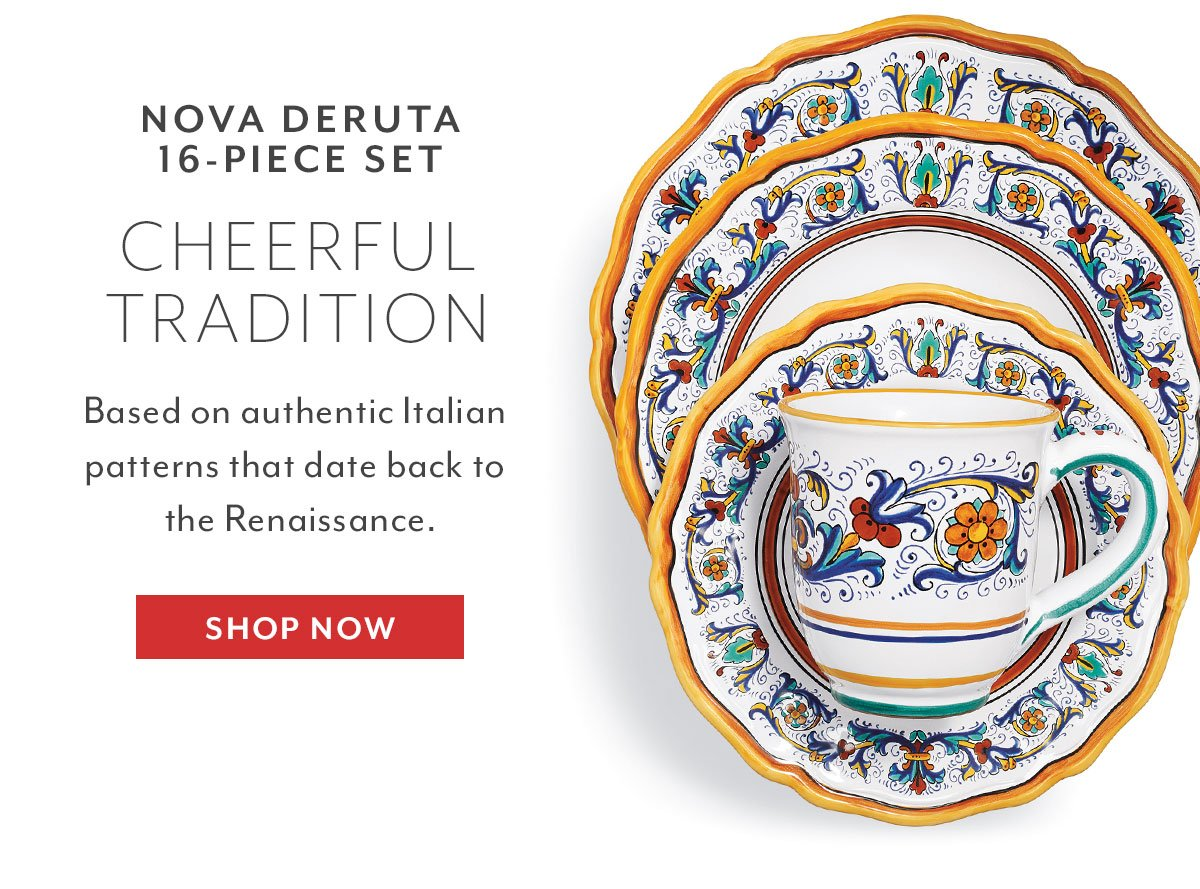 Nova Deruta 16-Piece Set