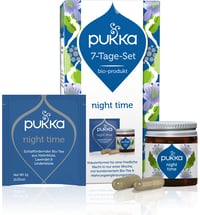 Pukka 7 Tage Set Night Time Bio