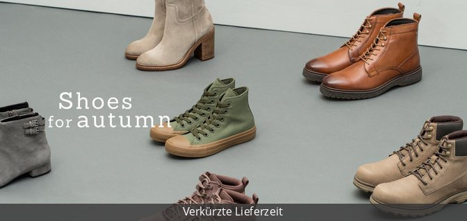 Shoes for Autumn