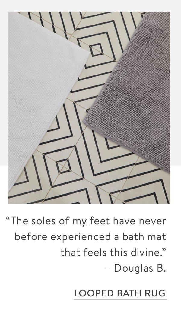 Looped Bath Rug