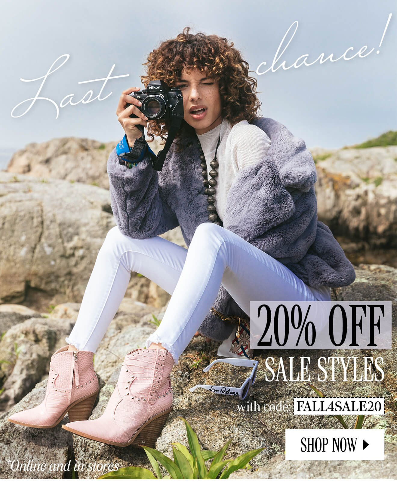 Last Chance! 20% Off Sale Styles with code FALL4SALE20. Shop Now