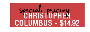 Christopher Columbus DVD – now $14.92