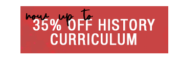 Up to 35% off History Curriculum
